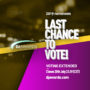 Last chance to vote – Voting extended closes 28th July 23:59 (CET)